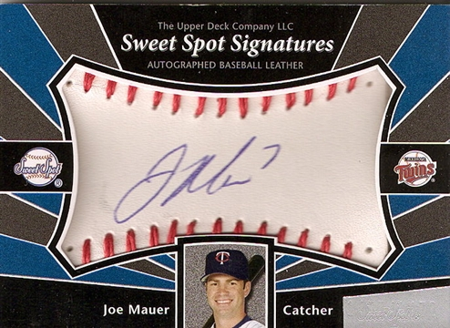 Is This Joe Mauer Autograph Card an Error Card?