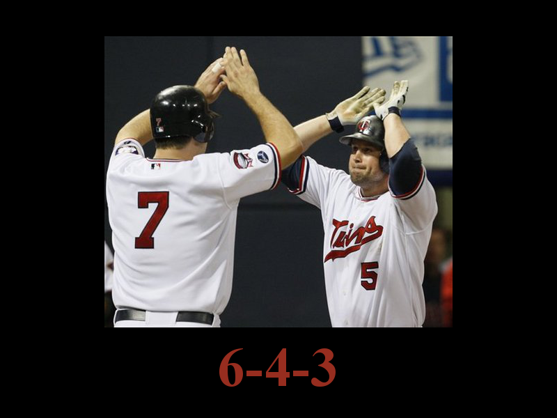 Unmotivational Twins Poster: Cuddy and Mauer