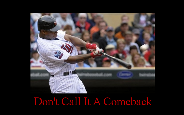 Motivational Twins Poster: Delmon Young (feat. LL Cool J)