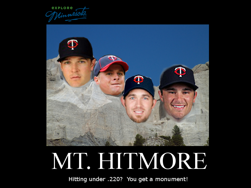 Unmotivational Twins Poster: Mount Hitmore II