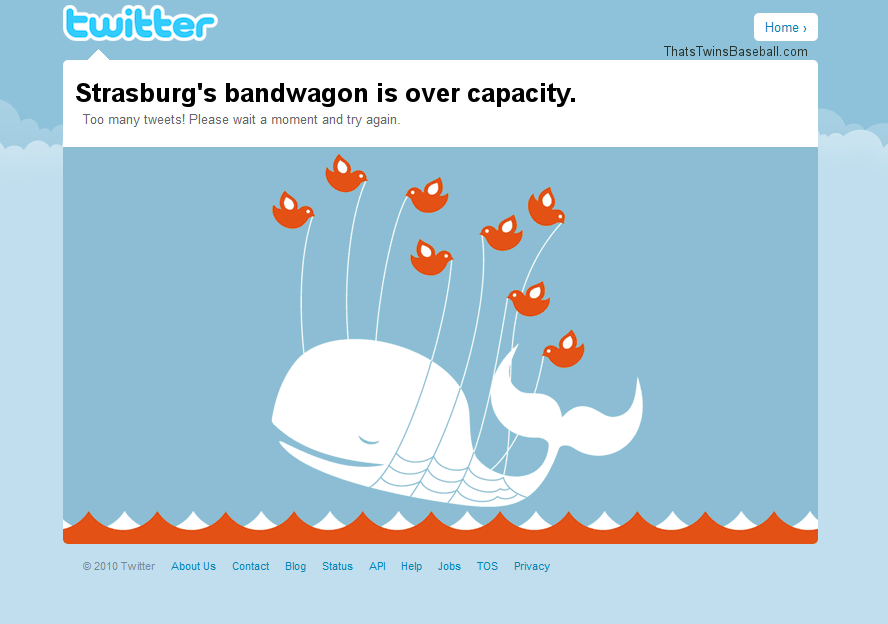 Strasburg Defeats Pirates and Twitter