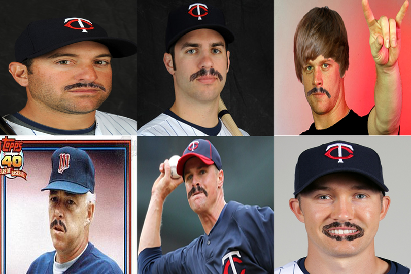 Carl Pavano Mustache Fun: Putting The Stache On Other Twins