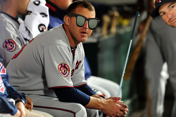 Jim Thome Goes Blind After Shaving Cream To Face