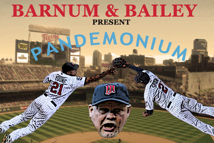 TTBB and Barnum & Bailey Presents: The Minnesota Twins Outfield