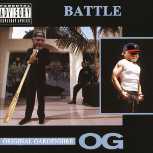 "Ron O.G. Gardenhire ""Battle"" Album Cover"