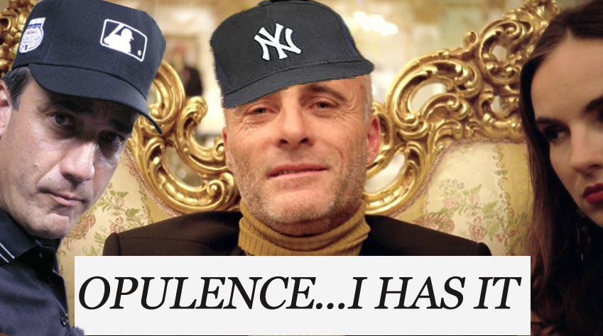 Opulence, the Yankees has it (pic)