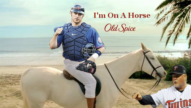 What If Joe Mauer Endorsed Old Spice?
