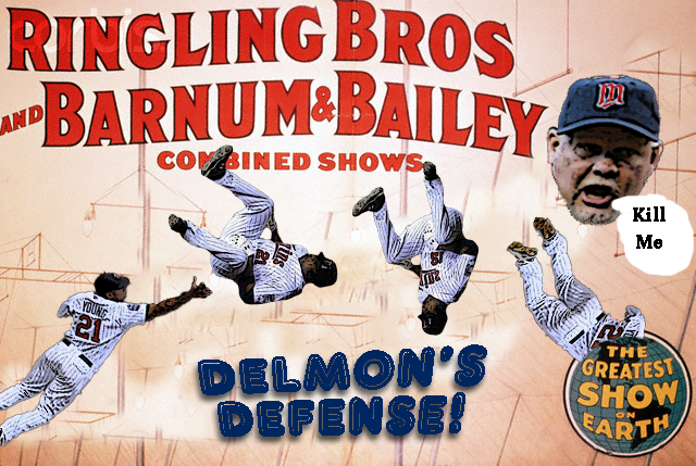 Barnum and Bailey Present: Delmon's Defense