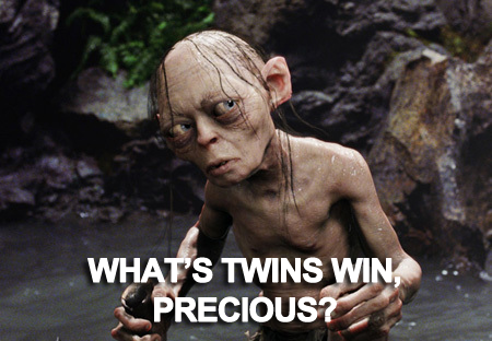 Gollum has a question.