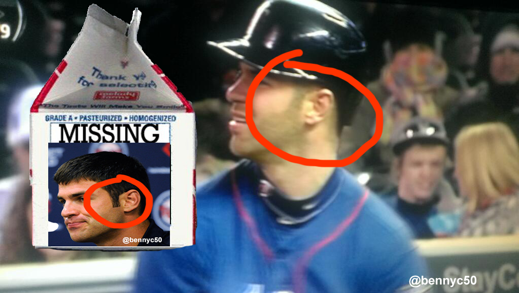 MISSING: Joe Mauer's Sideburns
