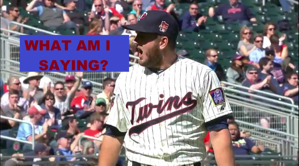 Glen Perkins Bench Clearing Caption Contest